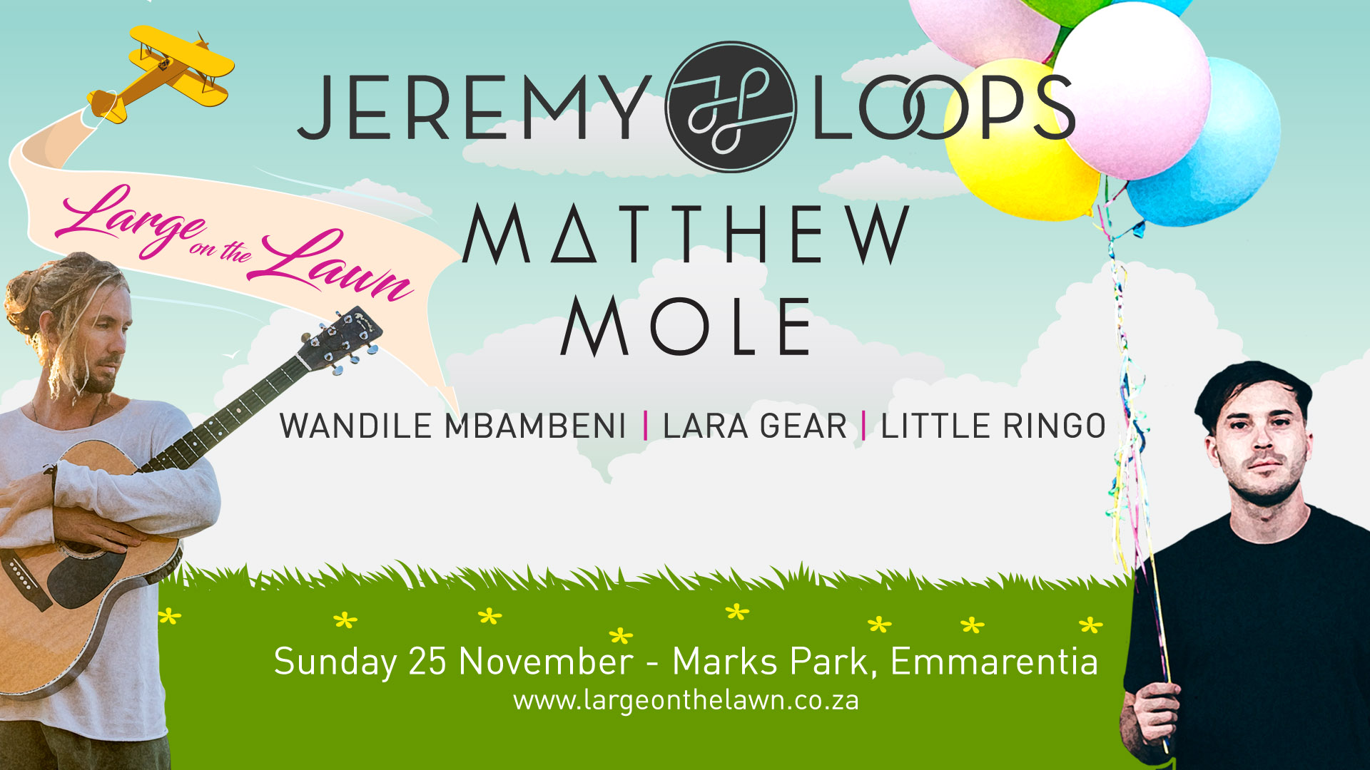Large on The Lawn ft Jeremy Loops – 25th November 2018